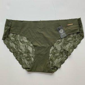 NWT Vince Camuto Olive Night Bikini Lace Panties